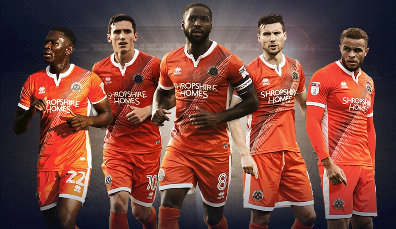 7ac47ab02db Away Kit On Sale Saturday - News - Shrewsbury Town