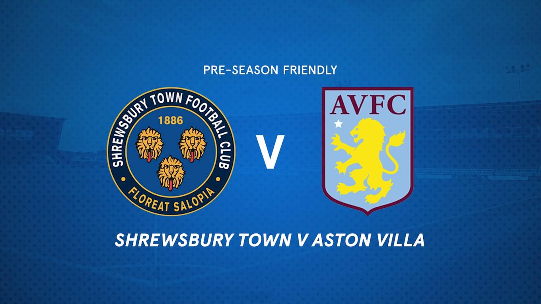 Aston Villa Tickets News Shrewsbury Town