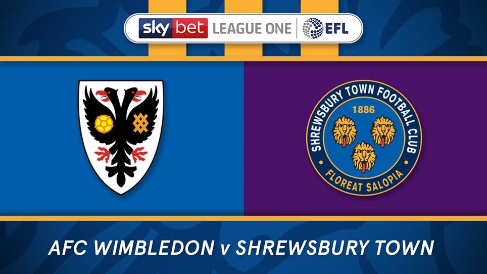 Latest Ticket News - Shrewsbury Town