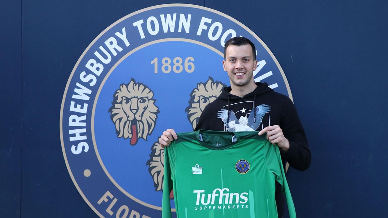 Getting to know Deyan Iliev - News - Shrewsbury Town